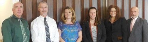 From left to right: Lee Wilson, International Code Council Chapter representative, Bryan Spain of California Code Check and 2015 Chapter President, Tina Dye from the City of Pismo Beach and 2014 Past President, Lori Wilson from the City of Paso Robles and 2015 Chapter Treasurer, Elizabeth Szwabowski from the County of San Luis Obispo and 2015 Chapter Secretary, Rafael Cornejo from the City of San Luis Obispo and 2014 Chapter Vice President.